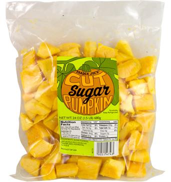 Trader Joe's Cut Sugar Pumpkin