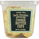 Trader Joe's Dark Chocolate Cookie Butter Cups