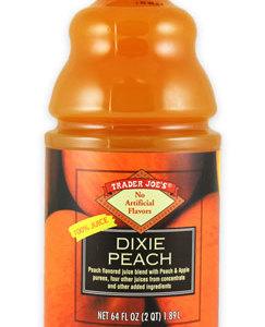 Trader Joe's Dixie Peach Juice
