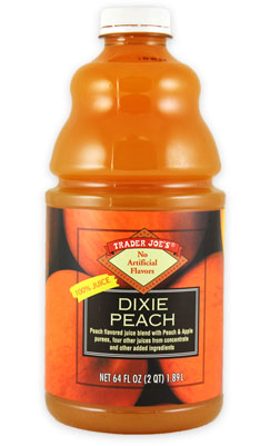 Trader Joe's Dixie Peach Juice