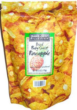 Trader Joe's Dried Baby Sweet Pineapple