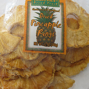 Trader Joe's Dried Pineapple Rings