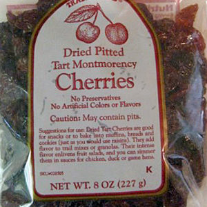 Trader Joe's Dried Pitted Tart Montmorency Cherries