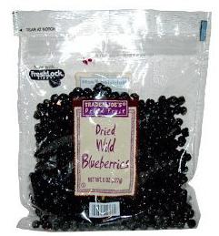 Trader Joe's Dried Wild Blueberries