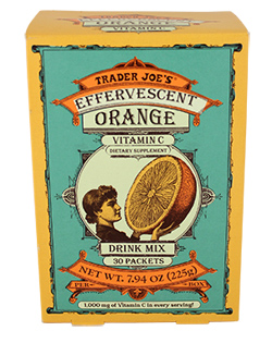 Trader Joe's Effervescent Orange Vitamin C