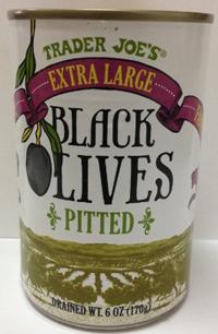 Trader Joe's Extra Large Pitted Black Olives
