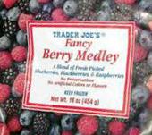 Trader Joe's Fancy Berry Medley