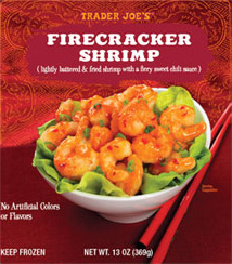 Trader Joe's Firecracker Shrimp