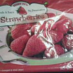 Trader Joe's Frozen Strawberries