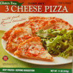 Trader Joe's Gluten-Free 3 Cheese Pizza