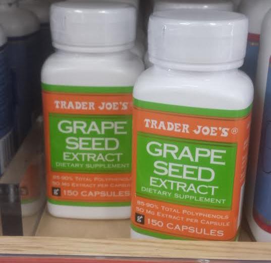 Trader Joe's Grape Seed Extract