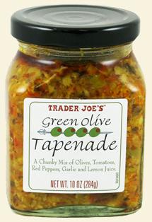 Trader Joe's Green Olive Tapenade