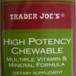 Trader Joe's High Potency Chewable Multi Vitamin & Mineral