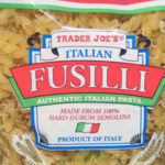Trader Joe's Italian Fusilli