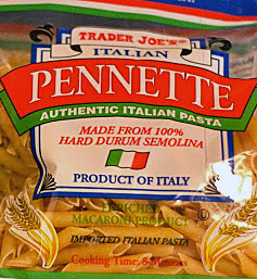 Trader Joe's Italian Pennette