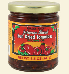 Trader Joe's Julienne Sliced Sun Dried Tomatoes