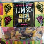 Trader Joe's Jumbo Raisin Medley