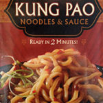 Trader Joe's Kung Pao Noodles & Sauce