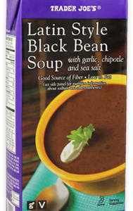Trader Joe's Latin Style Black Bean Soup