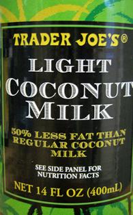 Trader Joe S Light Coconut Milk Reviews Trader Joe S