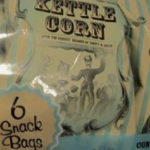 Trader Joe's Lite Kettle Corn 6 Snack Bags