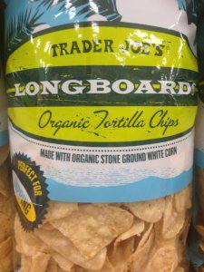 Trader Joe's Organic Longboard Tortilla Chips