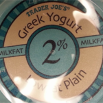 Trader Joe's 2% Plain Greek Yogurt