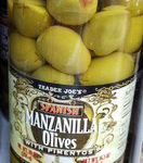 Trader Joe's Manzanilla Olives