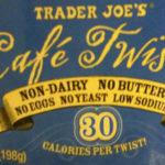 Trader Joe's Mini Café Twists