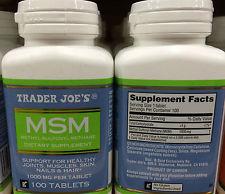 Trader Joe's MSM