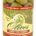 Trader Joe's Olives Stuffed With Pimento