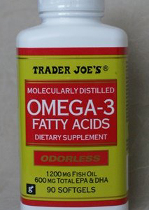 Trader Joe's Omega 3 Fatty Acids