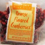 Trader Joe's Orange Flavored Cranberries