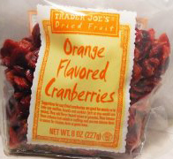 Trader Joe's Orange Flavored Cranberries