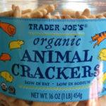 Trader Joe's Organic Animal Crackers