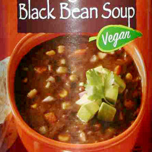 Trader Joe's Organic Black Bean Soup