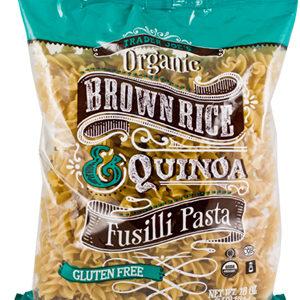 Trader Joe's Organic Brown Rice & Quinoa Fusilli Past
