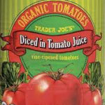 Trader Joe's Organic Diced Tomatoes