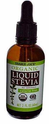 Trader Joe's Organic Liquid Stevia