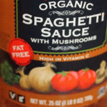 Trader Joe's Organic Spaghetti Sauce with Mushrooms