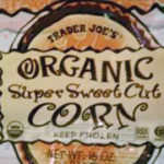 Trader Joe's Organic Super Sweet Corn