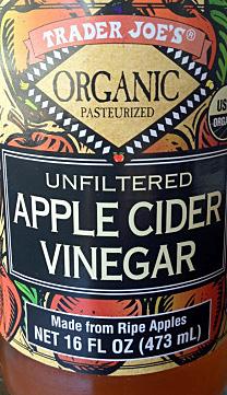 Trader Joe's Organic Unfiltered Apple Cider Vinegar