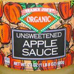 Trader Joe's Organic Unsweetened Apple Sauce