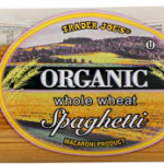 Trader Joe's Organic Whole Wheat Spaghetti