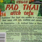 Trader Joe's Pad Thai with Tofu