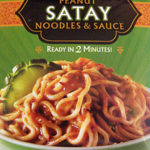 Trader Joe's Peanut Satay Noodles & Sauce