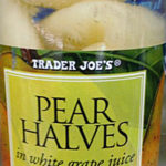 Trader Joe's Pear Halves