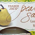 Trader Joe's Pear Sauce 4 -Packs