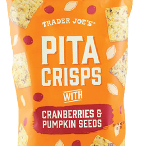 Trader Joe's Pita Crisps with Cranberries & Pumpkin Seeds
