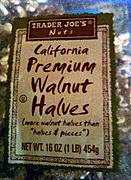 Trader Joe's Premium Walnut Halves